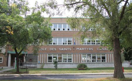 École primaire Saints-Martyrs-Canadiens de la CSDM